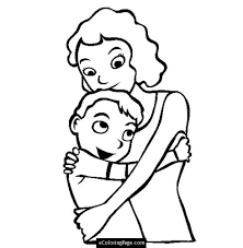 hulk coloring sheet colouring pages 11 son hugging mom