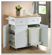 kitchen island trash kitchen island with trash can or chic kitchen cart with trash can