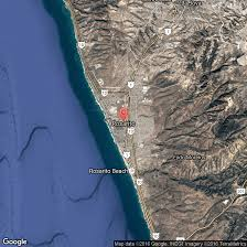 Map Of Ensenada Mexico by How To Travel To Rosarito Usa Today