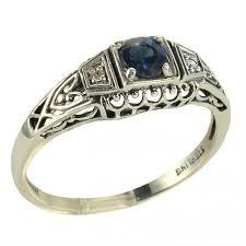 antique style diamond ring photos lovetoknow