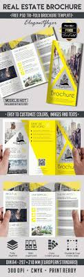 real estate brochure templates psd free best 25 free brochure ideas on free booklet template