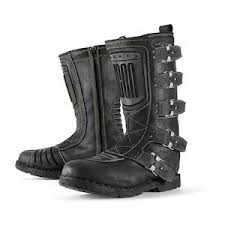 womens xelement boots icon 1000 elsinore boots revzilla