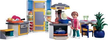 cuisine playmobile playmobil 3968 modern kitchen amazon co uk toys