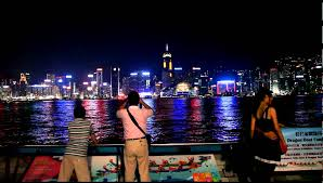 hong kong light show cruise symphony of lights hong kong harbor night cruise in hong kong youtube