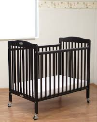 la baby little commercial wood crib 883 cherry wood color