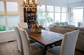 themed dining room brilliant reclaimed dining table oba project style room on