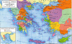 Greece Turkey Map by Time Map Greece