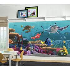 28 nemo wall mural finding nemo pre pasted wall mural nemo wall mural new xl finding nemo wallpaper mural kids room or bathroom