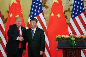 in beijing trump stops short of castigating xi for trade deals