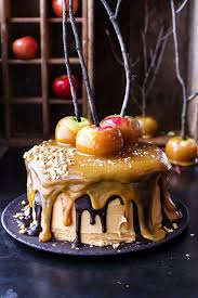 caramel snicker apple cake best cheap healthy thanksgiving