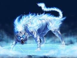 flames white tiger blue spark mars png and psd file for
