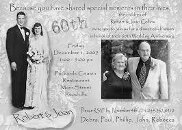 60th wedding anniversary invitations 60th wedding anniversary invitations sunshinebizsolutions