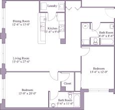 Unit Floor Plans Floor Plans Unit 1 First Place Condos