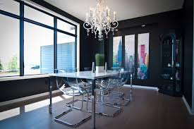 dining room designs with acrylic dining chairs