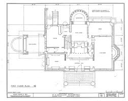 Ground Floor Plan F L Wright Winslow House Ground Floor Plan Near Chicago 1894