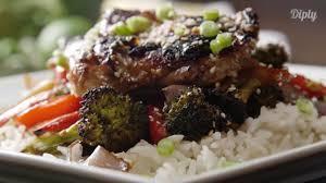 one pan korean chicken u0026 veggie delicious youtube