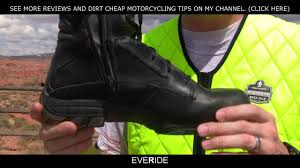 sport riding boots o o review best dual sport motorcycle boot for comfort
