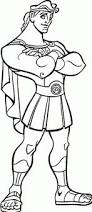 hercules with a sword coloring page disney coloring pages hercules