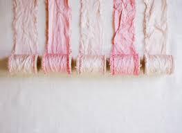 diy dyed ribbon silk fabric diy ombre and fabrics
