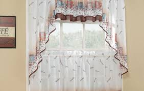 curtains kitchen curtains with valance tremendous curtains with