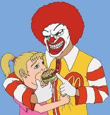 Ronald Mcdonald Meme - mcdonald s clipart ronald mcdonald pencil and in color