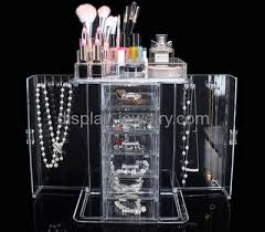 necklace holder stand images Custom design acrylic tiered display necklace jewelry stand jpg