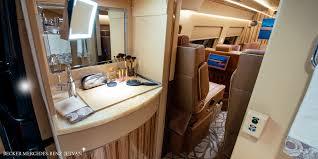 mercedes showroom interior becker automotive design luxury transport coaches sprinter