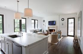 Open Floor Plan Kitchen Open Floor Plans With Kitchen Island Adhome