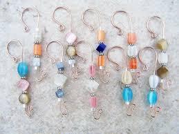 26 best beaded ornament hooks images on ornament hooks