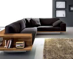 living rooms minimalist living room with l shaped black sofa
