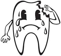 large image coloring teeth boy brushing dental pages