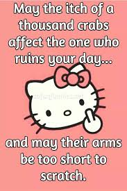 Hello Kitty Meme - adult humor funny quotes hello kitty meme adult humor anger