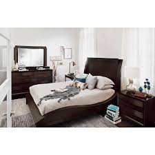 compact queen bed cascade merlot 6 pc queen bedroom value city furniture browning