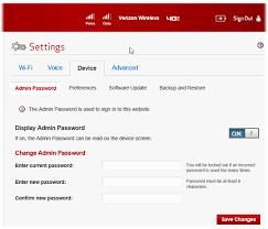 how to reset verizon router password verizon wireless