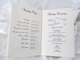 wedding ceremony booklet wedding ceremony program unique wedding ceremony booklet wedding