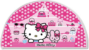 hello kitty large wall decor at children s rooms hello kitty large foam wall sticker