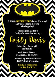 batman baby shower decorations batman baby shower invitation baby invitation
