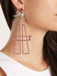 school earrings x rodriguez pair antenna earrings school