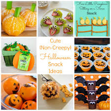 Halloween Treats And Snacks Cute Non Creepy Halloween And Fall Snack Ideas Happy Home Fairy