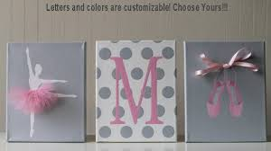 Ballerina Nursery Decor Baby Nursery Decor Ballerina Nursery Pink Gray Nursery
