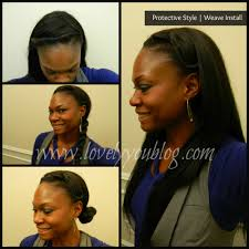 natural protective style 3 weave install review lovely