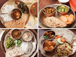 5 indian style healthy lunch dinner plate ideas by archana u0027s