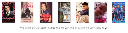 one direction cards one direction valentines day cards by iluvlouis on deviantart