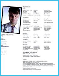 Actor Resume Builder Fill In The Blank Acting Resume Template Http Resumesdesign