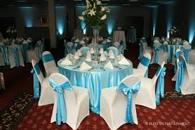 decorating ideas fantastic blue and white wedding table