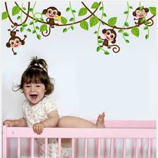 Monkey Nursery Decals Compare Prices On Monkey Nursery Decor Online Shopping Buy Low
