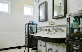 bathroom sink apothecary style bathroom vanity apothecary double