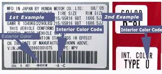 interior color code honda ideas 2008 honda civic ex sedan color