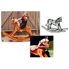 34 best rockers images on pinterest rocking horses wood and