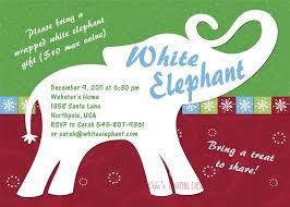 christmas invitations templates white elephant party invitations u2013 gangcraft net